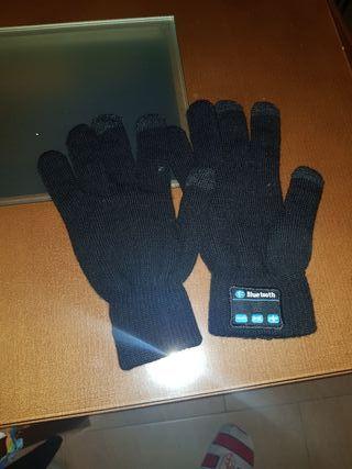 Guantes con Bluetooth para movil