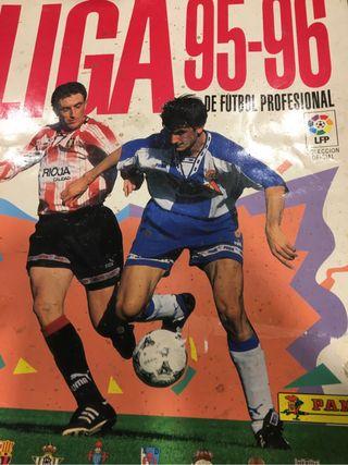 Album panini futbol 95 96