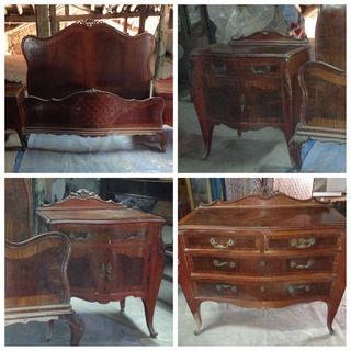 Muebles antiguos cl sicos isabelinos escuxo oferta de - Muebles antiguos madrid ...
