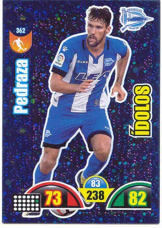 Cromos Adrenalyn 2017-18 Idolo Alaves