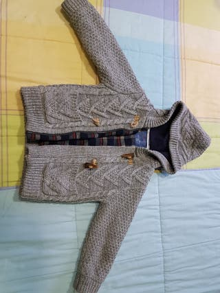 Chaqueta abrigo zara niño talla 4-5