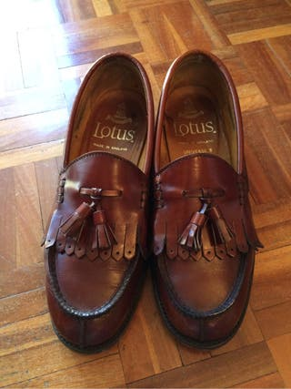 Zapatos loafers vintage Lotus