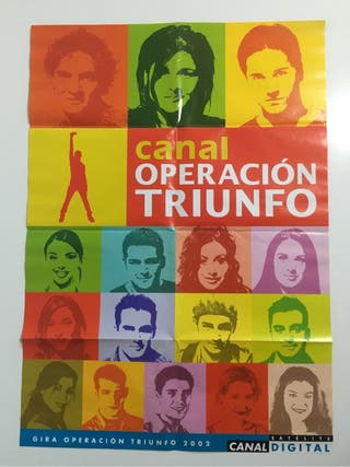 Poster Operación Triunfo