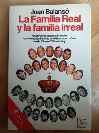 Libro la familia real y la familia irreal