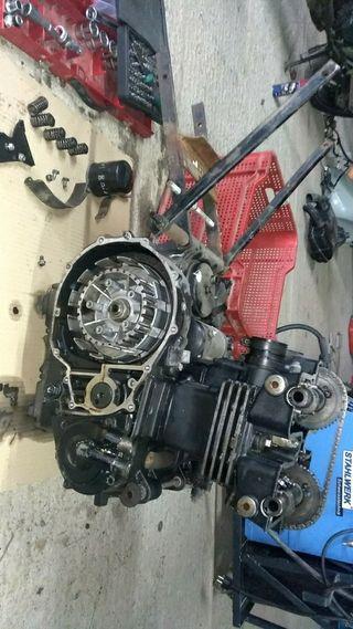 despiece motor gpz 500 del 90-95
