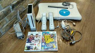Wii + accesorios + juegos (pack)