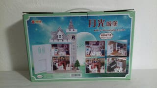 castillo muñecas miniatura manualidades