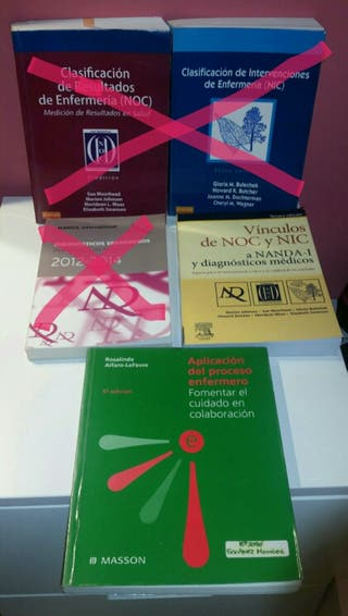 Pack libros enfermeria