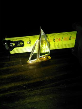 Swarovski figura bote