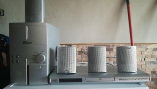 DVD y equipo de sonido