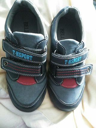 zapatillas niño nuevas