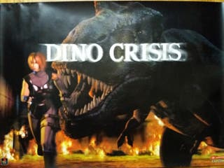 Poster original Dino Crisis PlayStation