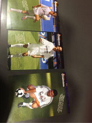 Postales futbol madrid 2004