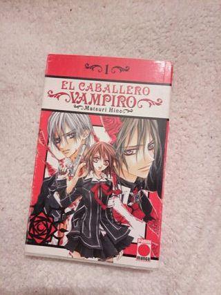 "El caballero vampiro (1) ""Matsuri Hino"""