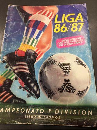 Tapa album 86 87