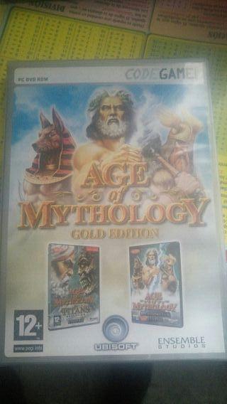 juego pc age of mythology version gold edition