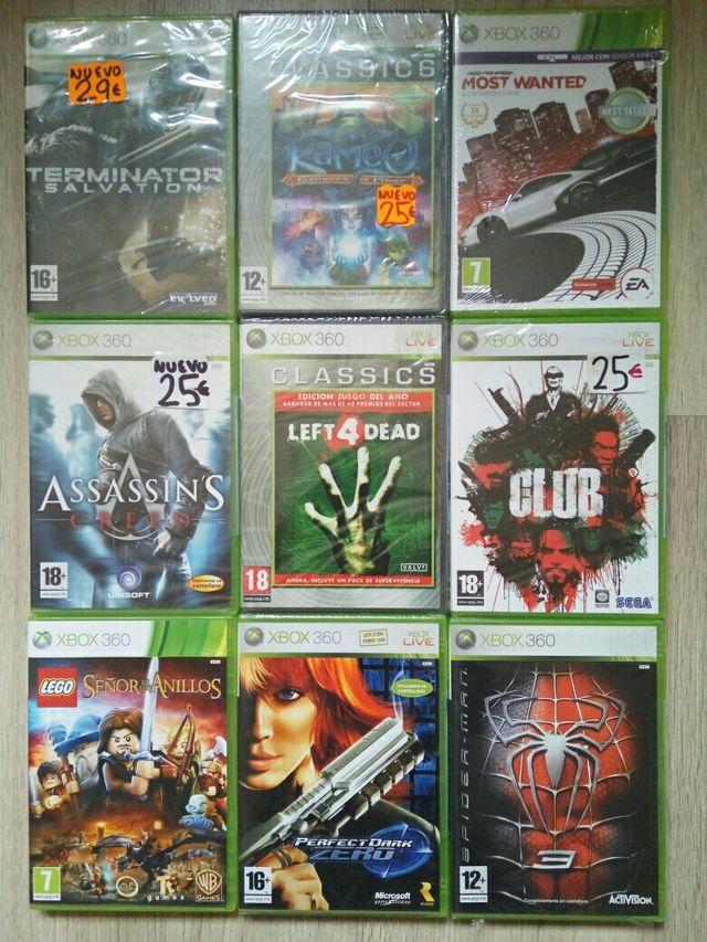 Juegos Xbox 360 Nuevos A Estrenar Precintados 19 De Segunda Mano