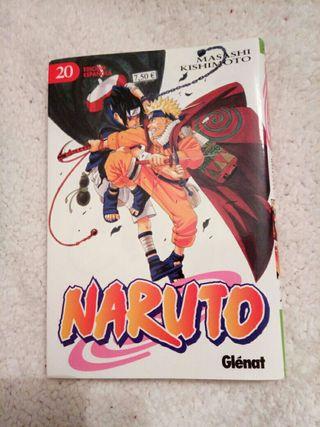 """Manga Naruto tomo 20 """"Masashi Kishimoto"""""""