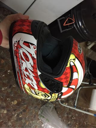 Casco moto joker