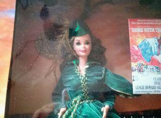 Muñeca Barbie Scarlett O'Hara.