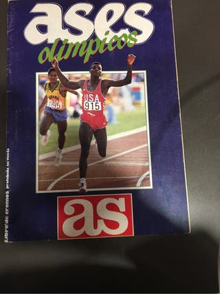 Album ases olimpicos 88