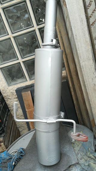 tubo de escape deportivo inox