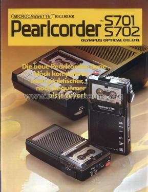dictophone Olympus Pearlcorder S702