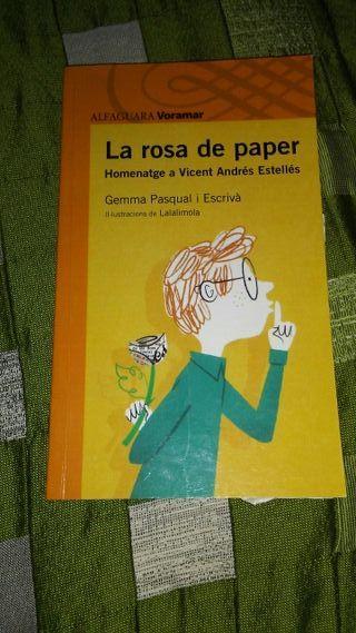 Libro la rosa de paper
