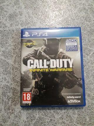 CAMBIO call of dutty infinite warfare PS4
