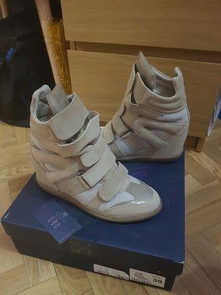 sneakers Alpe piel