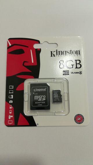 Kingston 8 GB Tarjeta de memoria Micro SD