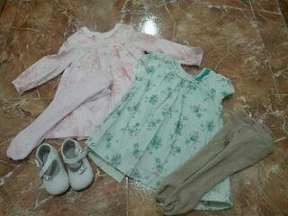 vestidos niña 12 meses