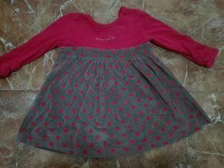 vestidos niña 6-12 meses