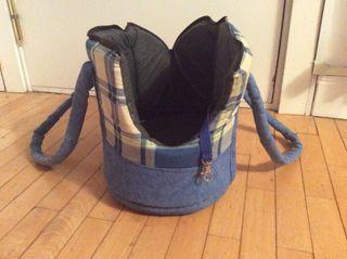 Bolso transporte para mascota