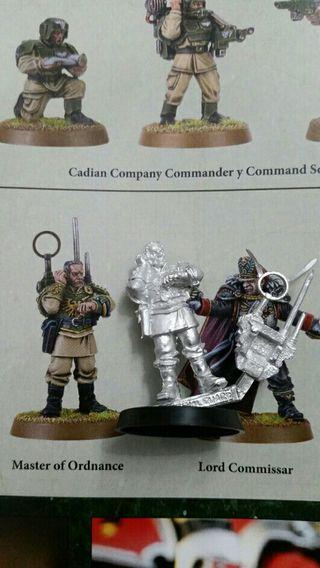 Maestro artillería guardia imperial warhammer