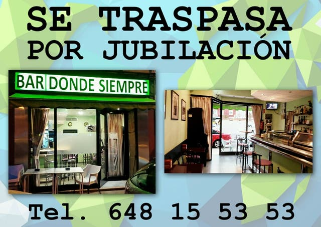 Traspaso bar Huesca