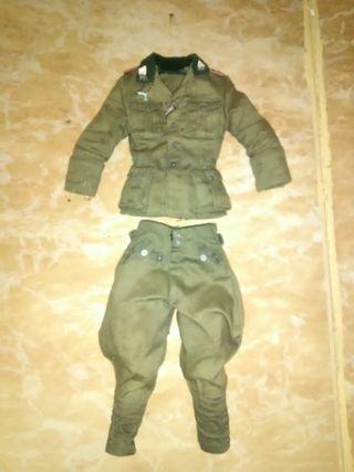 Escala 1/6 uniforme coronel aleman
