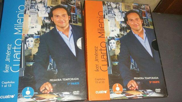 DVD\'s cuarto milenio de segunda mano por 8 € en Viladecans en WALLAPOP