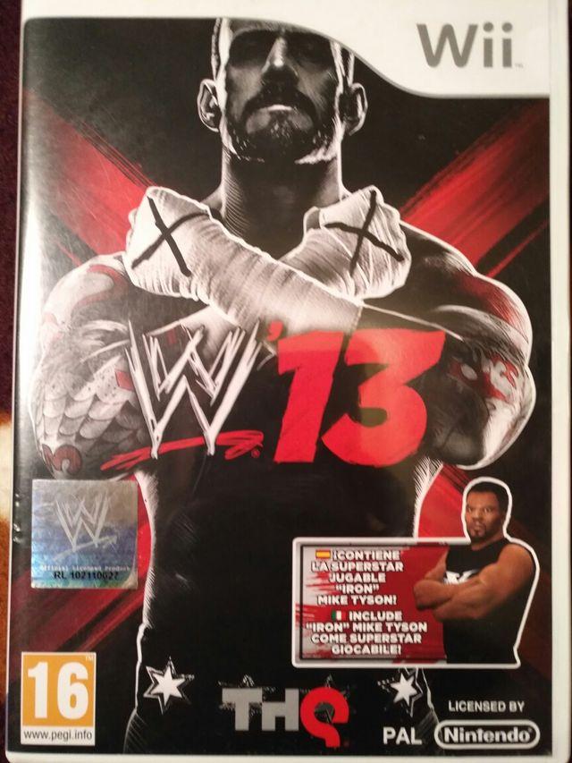 Juego WII - WWE 13