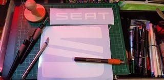Pegatinas adhesiva SEAT