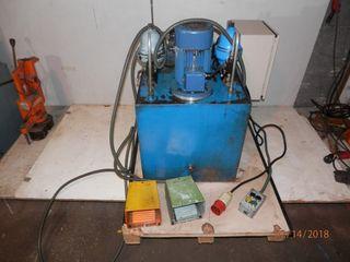 Centralita bomba hidráulica electrovalvulas