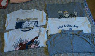camisetas manga larga niño T10