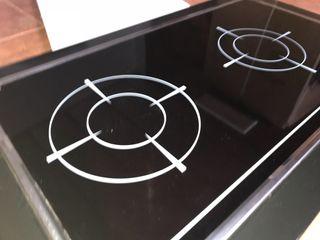 Plancha vitroceramica cocina