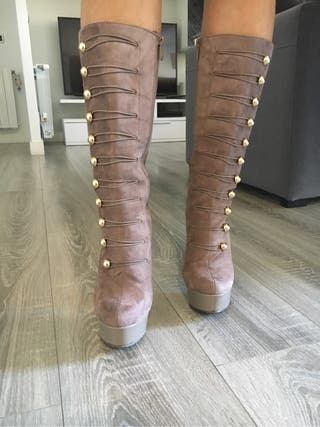 Botas altas talla 38