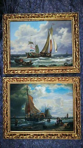 cuadros óleos acrílicos decorativas