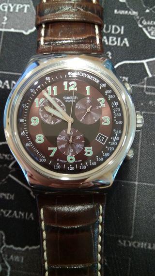 Reloj hombre Swatch Irony Your Turn