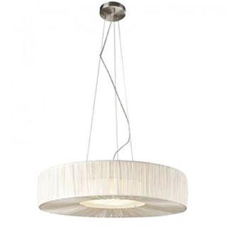 Lámpara de diseño, modelo Massive color crema