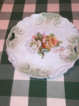 Plato de porcelana
