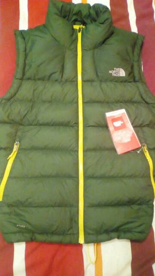 chaleco plumas north face