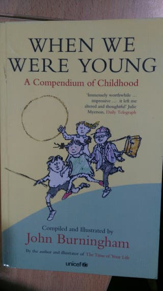 Libro: When we were young. John Burningham
